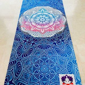 All For Yoga | Esterilla de Yoga Mandala Blue