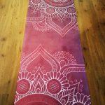 All For Yoga   Esterilla Mandala Flor XL